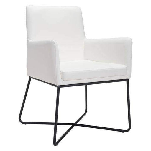 Zuo Modern Dining Chair Axel Dining Chair White