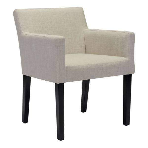 Zuo Modern Dining Chair Beige Franklin Dining Chair