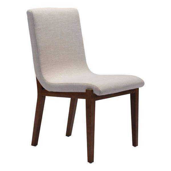 Zuo Modern Dining Chair Beige Hamilton Dining Chair (Includes 2 per Box)