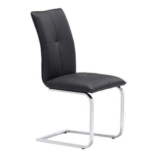 Zuo Modern Dining Chair Black Anjou Dining Chair (Includes 2 per Box)