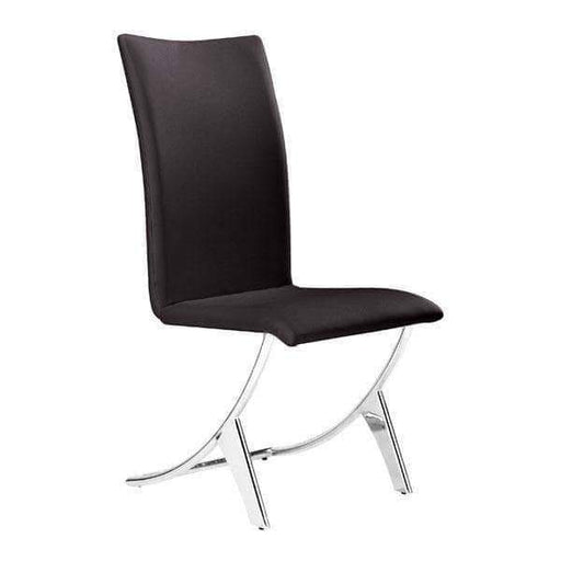 Zuo Modern Dining Chair Espresso Delfin Dining Chair (Includes 2 per Box)