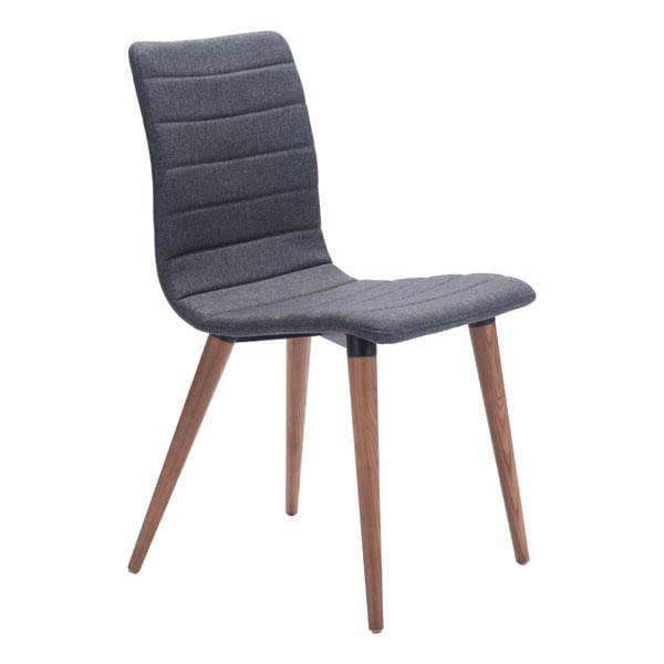 Zuo Modern Dining Chair Grey Jericho Dining Chair (Includes 2 per Box)