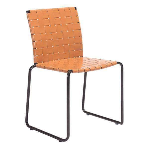 Zuo Modern Dining Chair Tan Beckett Dining Chair (Includes 4 per Box)