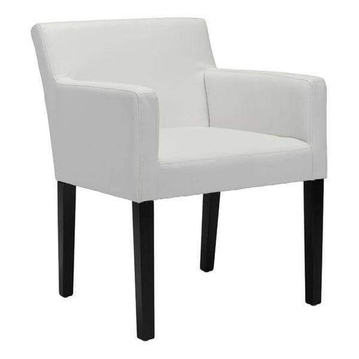 Zuo Modern Dining Chair White Franklin Dining Chair