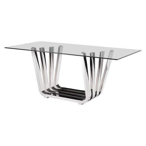 Zuo Modern Dining Table Fan Dining Table