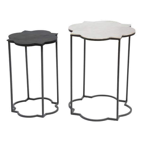 size 40 8a4ca a3f46 Brighton Accent Table Black & White