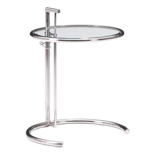 Zuo Modern End Table Chrome Eileen Accent Table