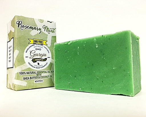 Rosemary Mint 100% All-Natural Bar Soap