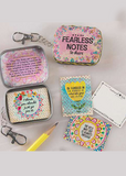 Fearless Tiny Tin Notes