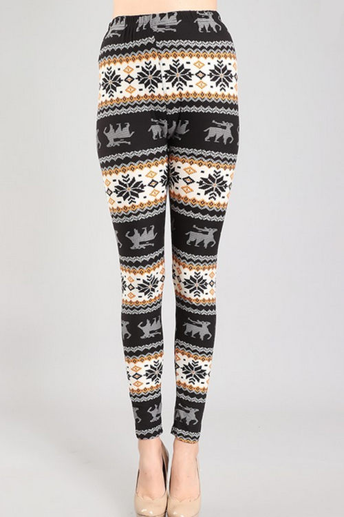Christmas Fleece Leggings