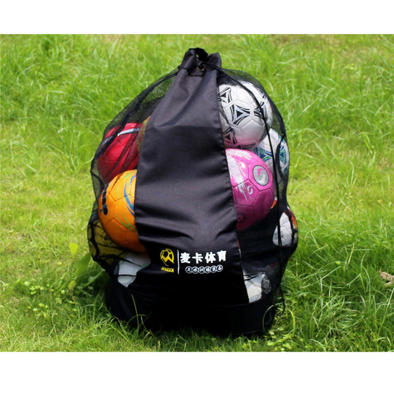 MAICCA Portable Football balls bag Super big for basketball volleyball ball net bags sports training carrying Wholesale