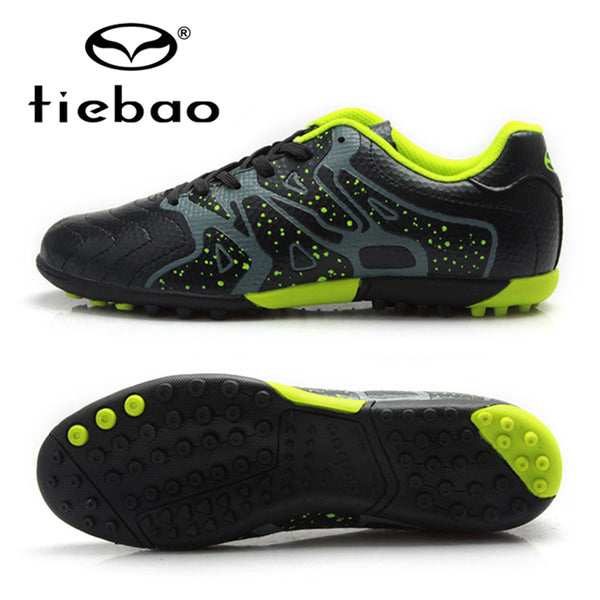 TIEBAO Brand Soccer Shoes Teenagers Sports Football Boots TF Turf Sneakers Athletic Trainers Soccer Cleats chuteiras futebol