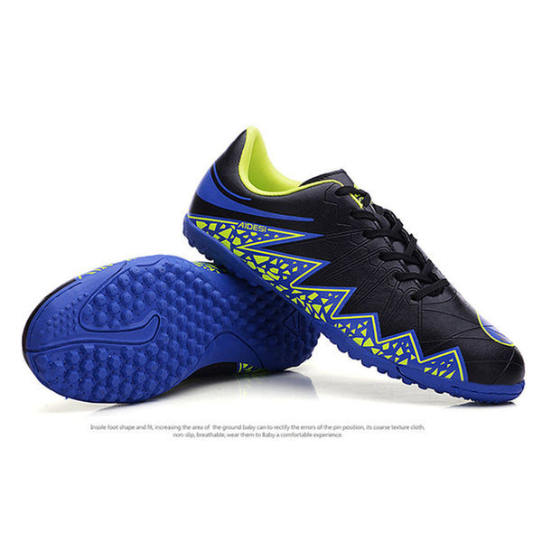 4 Colors New Mens Kids Turf  Indoor Soccer Shoes Men Football Boots Cleats Sports  Soccer Boots