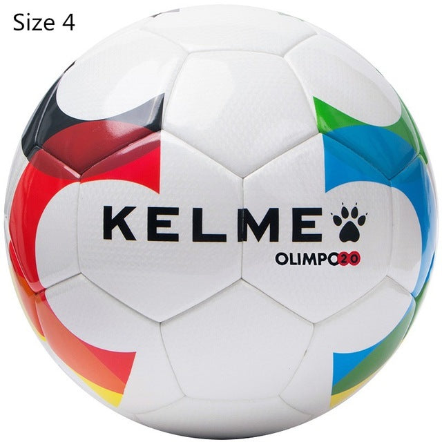 KELME Top Grade Size 4 Size 5 Soccer Ball Anti-slip PU Slip-Resistant Standard Match Training Competition Football 08