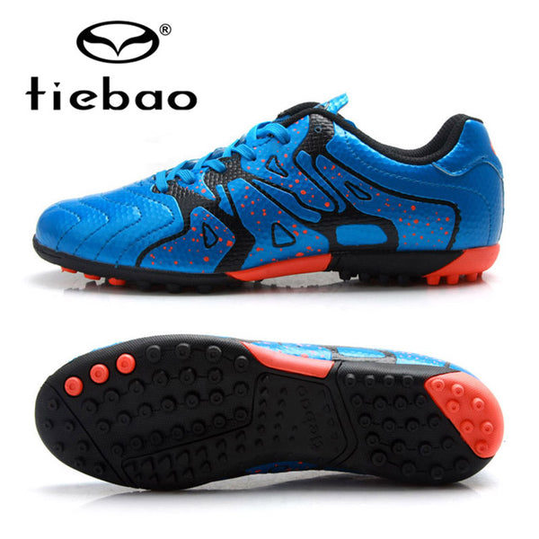 TIEBAO Professional Soccer Shoes 2017 Teenagers Sports Football Boots TF Turf Soles Sneakers chuteira futebol Soccer Cleats