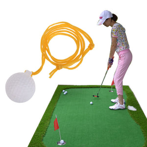 Golf Solid Swing Trainers Ball Golf Swinger Practice with String New Hot Sale