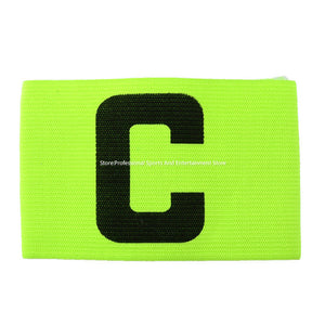 High Quality 4 Colors Football Soccer Flexible Sports Adjustable Player Bands Fluorescent Captain Armband