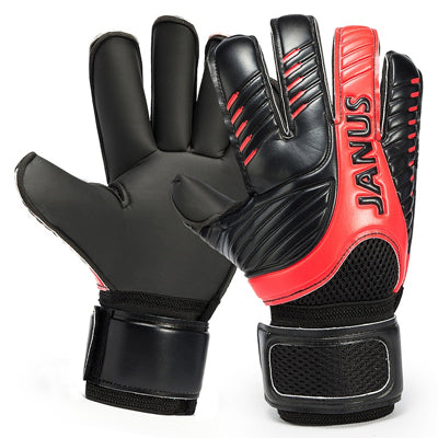 2016 New Professional Mens Soccer Goal Keeper Gloves Finger Protection Thick Soccer Bola De Guantes Futbol Luvas De Guarda Redes