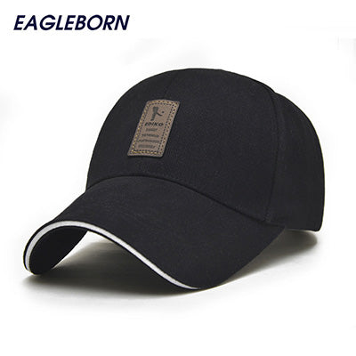 2017 EAGLEBORN snapback women Brand Fashion Baseball Cap for Men Women Cotton Casual Hats Men Golf Logo men casquette bone gorra