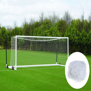 New Durable 7.5m x 2.6m Ball Nets 8 x 24 FT Football Net for Soccer Goal Post Junior Outdoor Sports Training Football Equipment