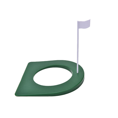 1 Set New GOLF In/Outdoor Regulation Putting Cup Hole Putter Practice Trainer Aid Flag