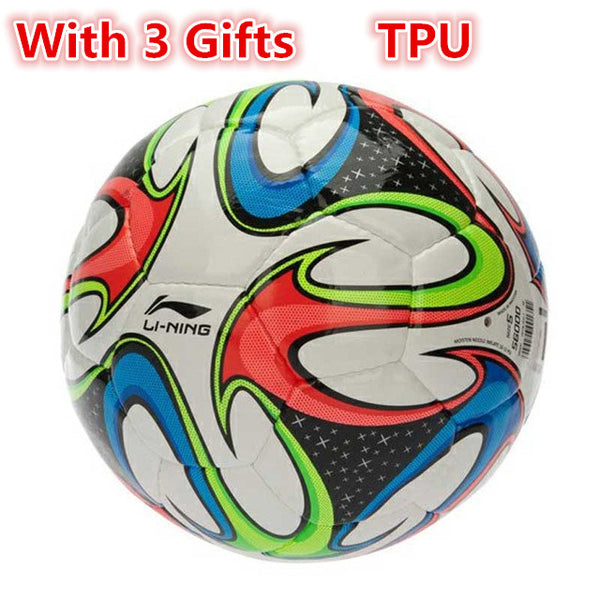 Genuine Li-Ning Professional Football Balls T-PU/PVC Size 5 Sport Soccer Ball balones de futbol Li Ning Training Equipment