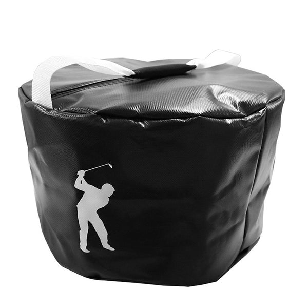 2 Colors Golf Power Impact Swing waterproof Practice Training Smash Hit Strike Bag Trainer Exercise Package Multi-function Aids