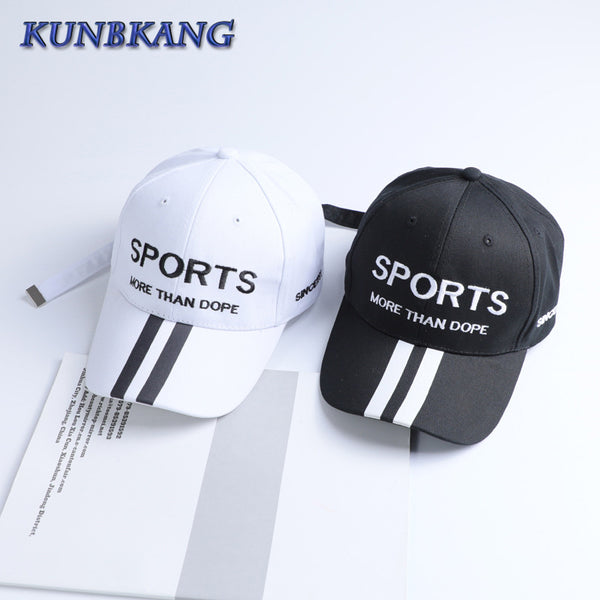 2017 Women Hip Hop Caps Embroidery Baseball Cap Black And White Girls Sports Letter Snapback Adjustable Hats Gorra Bone Hat Golf