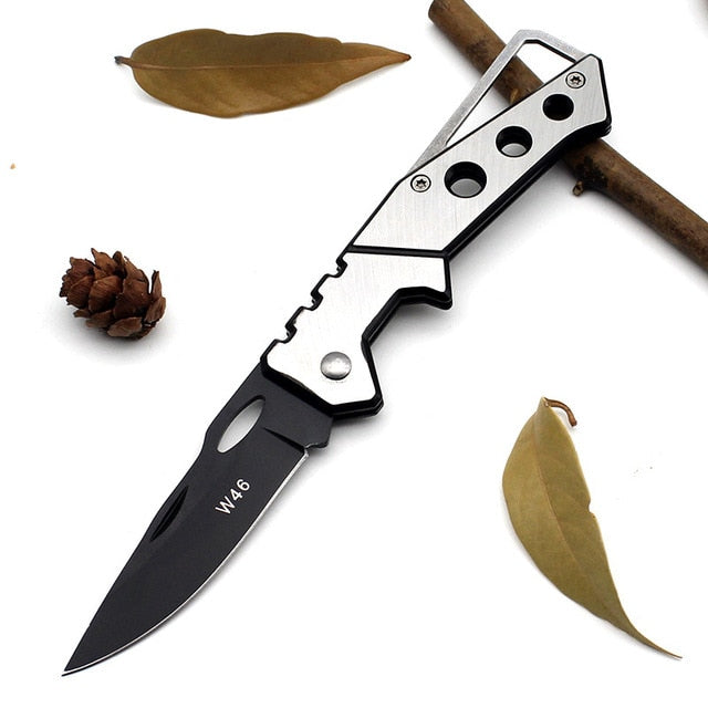 Mini Tactical / Hunting Knife – Stainless Steel, Folding