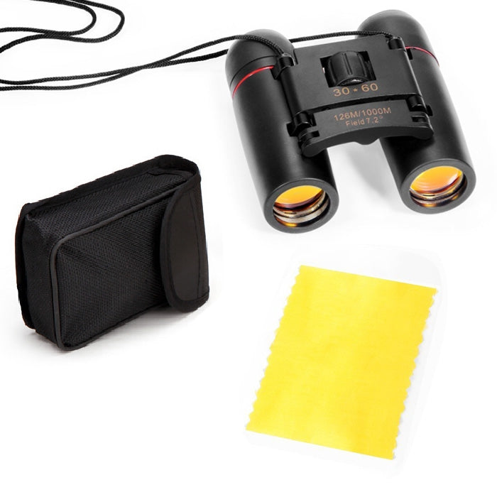 BRAND NEW Mini Folding Binoculars – 8X Magnification, Free Carrying Case!