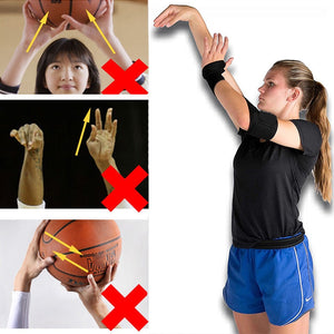 Basketball Shooting Shotloc Auxiliary Training Hand Posture Correction Orthotics Equipment Wristband Thumb Support Straps Wraps