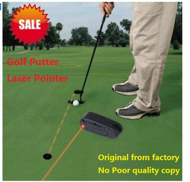 Assistant golf putter laser sighter beginner supplies for golf putter practice