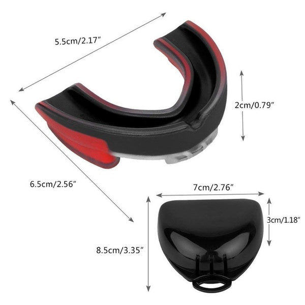 Adult Mouthguard Taekwondo Muay Thai MMA Teeth Protector Football Basketball Boxing Mouth Safety Mouth Guard Oral Teeth Protect