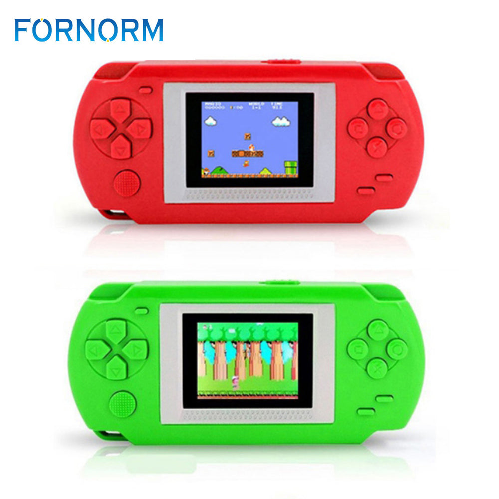 FORNORM Game Console With 268 Retro Video Games 2 Inch Screen Child 502 Color Screen Display Handheld Game Consoles Game Player