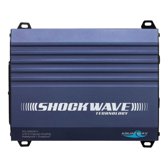AQUATIC AV - SHOCKWAVE TECHNOLOGY AMPLIFER - 2 Dogs Marine