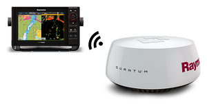 "QUANTUM RADAR - Q24C 18""  with 10m Power and 10m Data Cable - 2 Dogs Marine"