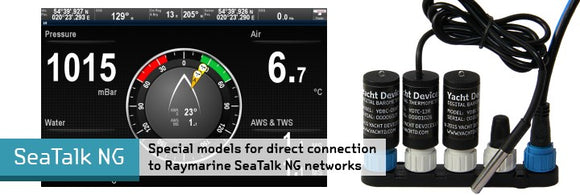 Digital Thermometer YDTC-13 - with terminator. Compatible with Raymarine SeaTalkNG - 2 Dogs Marine
