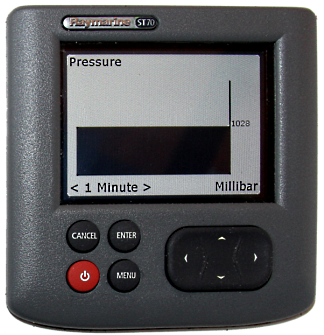 Digital Barometer - Model with terminator. Compatible with NMEA 2000 (DeviceNet) Micro Male - 2 Dogs Marine