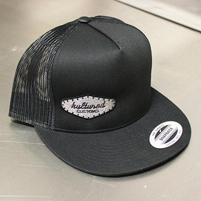 Trucker Hat Black Gray