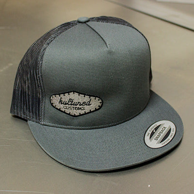 Trucker Hat Gray Gray