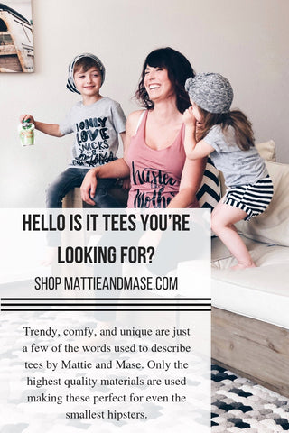 Cute children's tee shirts