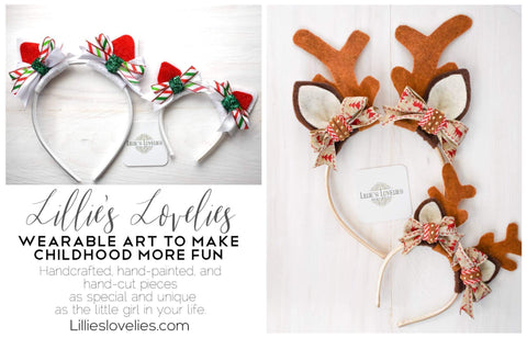 Children's animal headbands and tous
