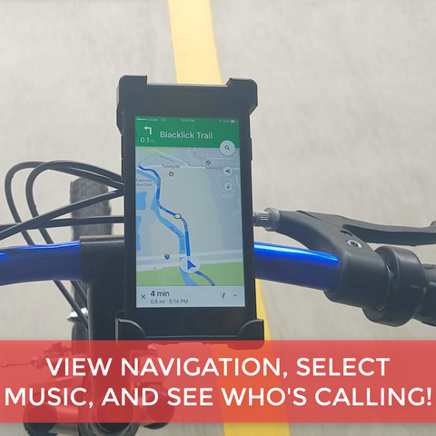 Bicycle/Motorcycle Handlebar Phone Mount
