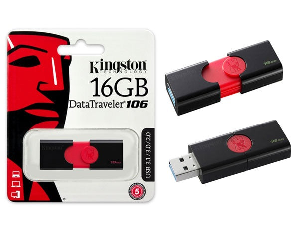 KINGSTON USB DRIVE   16GB (DT106)