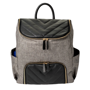 Mother's Day Getaway Bag - Black/Grey Oxford