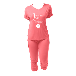 Bamboo Jogger Pajama Love Language