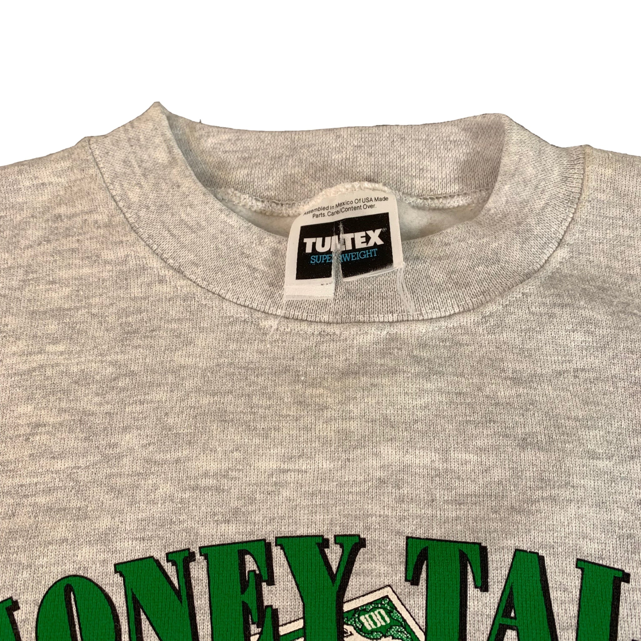"Vintage Money Talks ""Bullshit Walks"" Crewneck Sweatshirt"