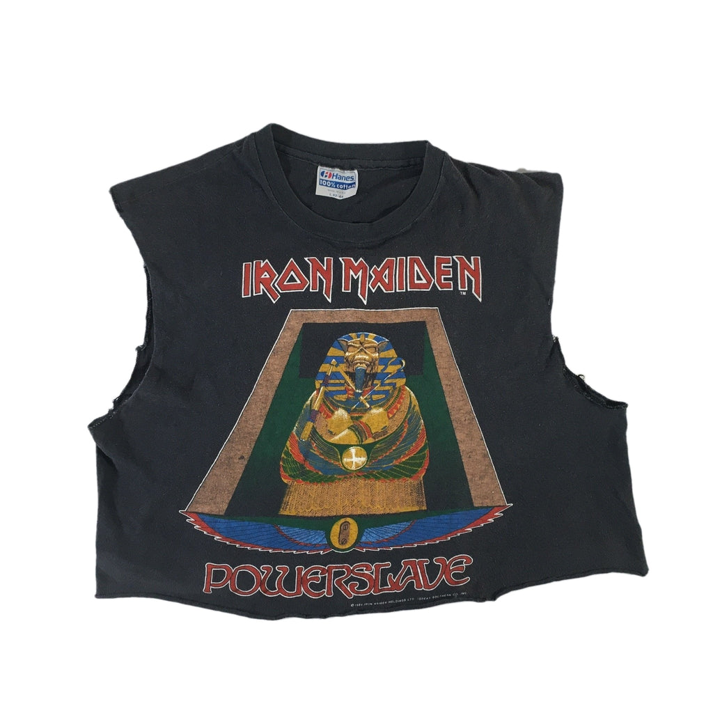 "Vintage Iron Maiden ""Powerslave"" T-Shirt"