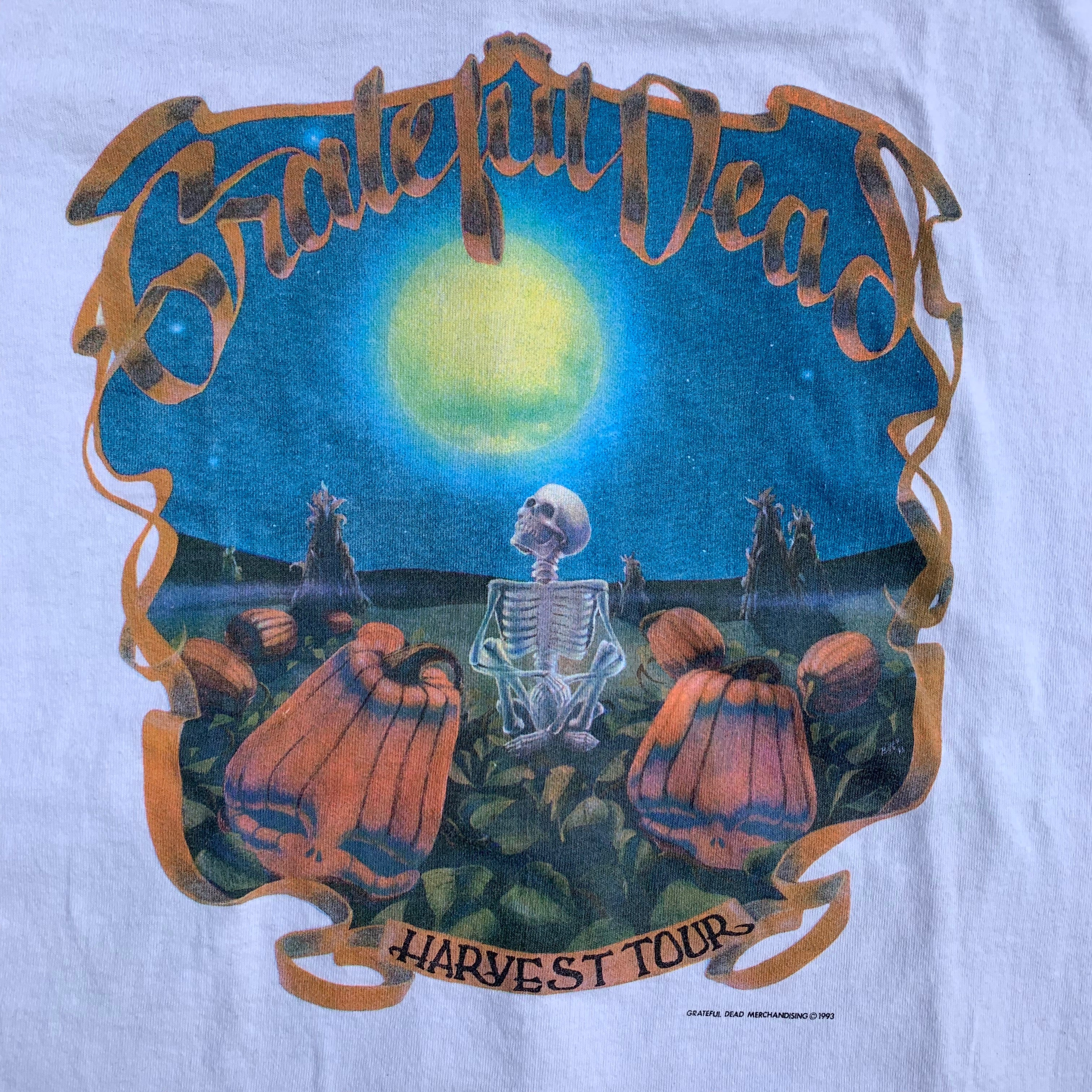 "Vintage Grateful Dead ""Harvest"" T-Shirt"