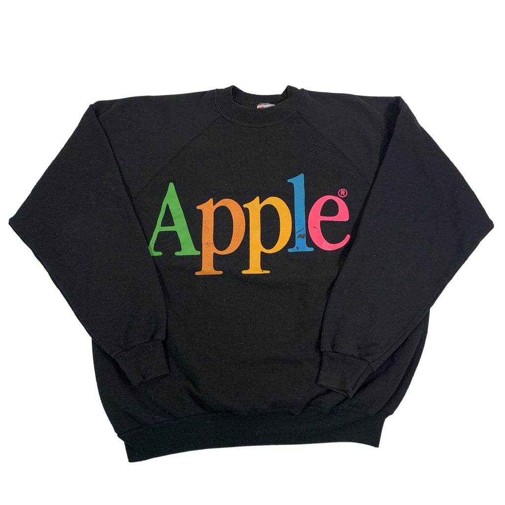 "Vintage Apple ""Rainbow"" Crewneck Sweatshirt"